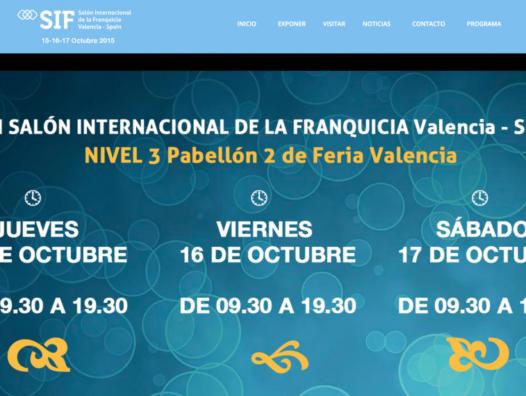 INVITACIÓN Al SIF, Salón Internacional De La Franquicia