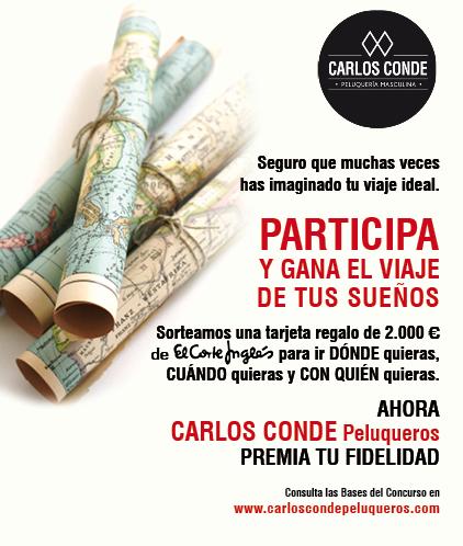 Participa Y Gana El Viaje De Tus Sueños Con Carlos Conde Peluqueros