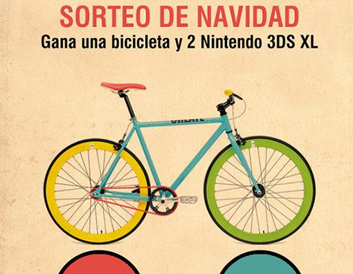 ¡SORTEO De Navidad! Gana Una Fantástica Bicicleta Y Dos Nintendo 3DS XL