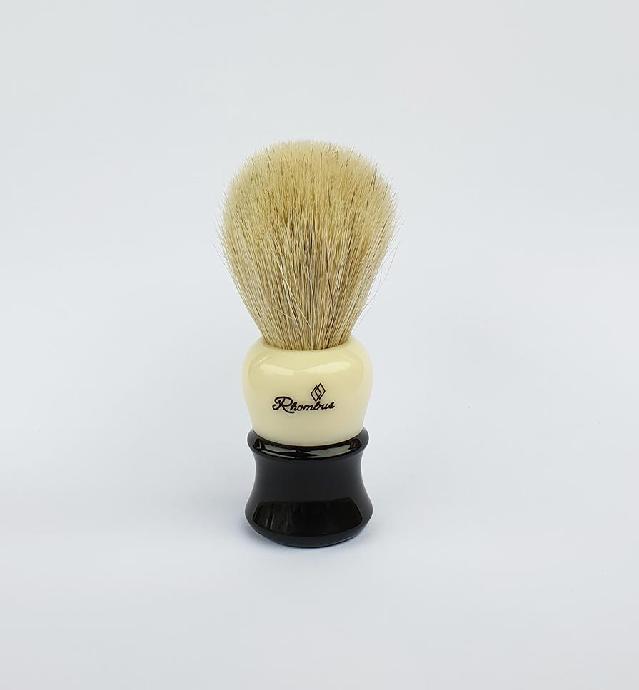 Brocha de afeitar blanca